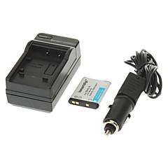 ismartdigi 700mAh Camera Battery+Car Charger for NIKON S100 S2500 S2600 S3100 S3300 S4300 S6400