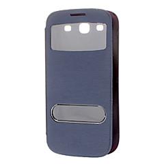 Skylight Padrão PU Leather Case Full Body para Samsung Galaxy S3 I9300