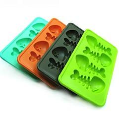 Novelty Fish Bone Style Silicon Ice Cube Mould