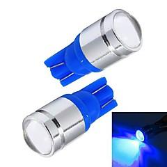 Merdia T10 1W 110LM Blue Light Car Daytime Running Light / Instrument Lampa / License Plate Ljus (par / 12V)