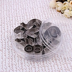 Advanced Stainless Steel 10PCS 0-9 Number  Biscuit  Mold Cutting Die