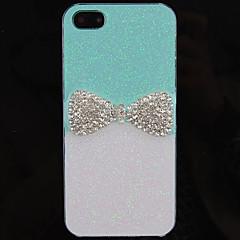 Grill Elegant Bowknot Pattern takakannen iPhone 5/5S (valikoituja väri)