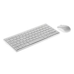 USB Wireless 2.4G Optical Mouse Mini Keyboard