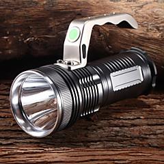 M9002 impermeable 3-Mode 1xCree XP-G2 R5 recargables Linternas y luces de la tienda (3x18650, 1200LM, cobre)