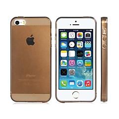 Caso Soft Color brilhante TPU transparente para iPhone 5S / 5 (cores sortidas)