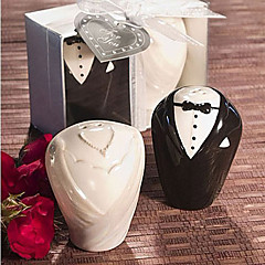 Creativa Formal Wear Exquisito Diseño Salt & Pepper (2 PCS)