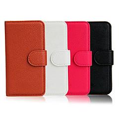Carteira Virar suporte Leather Pouch Case Capa para Samsung Galaxy S3 i9300 (cores sortidas)