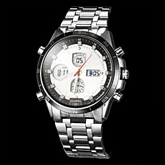 Men's Multi-Functional Analog-Digital Alloy Band Wrist Watch (Assorted Colors)