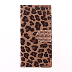 Leopard Print PU Leather Full Body Case for iPhone 5/5S (Assorted Colors)