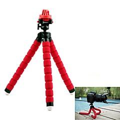 G-143-SRED Fotopro 360 Grad drehen Octopus Form Sponge Flexible Stativ für GoPro Held 2/3/3 +