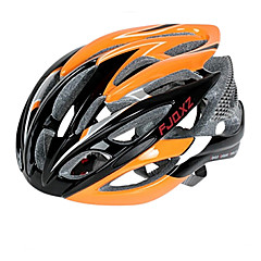 FJQXZ Ultralight 26 Vents PC + EPS Orange cykelhjelm