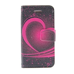 Kinston Heart Of The Art Pattern PU Leather Full Body Case with Stand for iPhone 4/4S