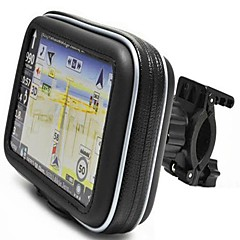 "Waterproof Bike Bycicle Motorcycle Handlebar Mount and Case  for Garmin Nuvi Magellan 3.5"" 4.3"" GPS"