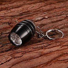 Water Resistant 6-LED White Flashlight Keychain(2xCR2032/2 PCS)