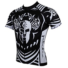 PaladinSport Men's Cycling Jersey Short Sleeves Spring and Summer Style 100% Polyester
