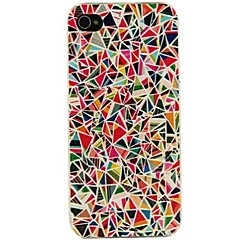 vormor® triangles colorés cas de motif pour iphone 5 / 5s