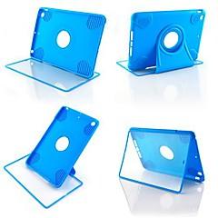 couleur solide boîtier rotatif pour Mini iPad 3, iPad Mini 2, iPad mini (de couleur assortie)