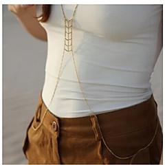 Unic delicat de aur ciucuri lanțul de talie pentru femei * 1buc