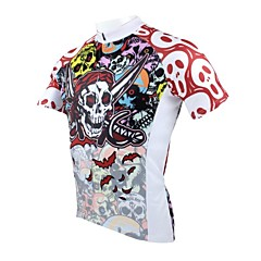 PALADIN Cycling Tops / Jerseys Men's Breathable / Ultraviolet Resistant / Quick Dry Short Sleeve Bike 100% Polyester Skulls OthersS / M /