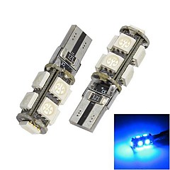 Error Merdia T10 9x5050SMD luz LED azul Luz de Canbus del coche libre LED Bombilla (par / 12 V)