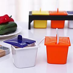 Solid Color Fashion Seasoning Pot(Random Color)