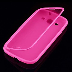 Solid Color Full Body Case for Samsung S3 I9300 (Assorted Color)