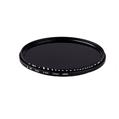 Hot Sale! 72mm Slim Fader Variable ND Filter Neutral Density Adjustable ND2 to ND400 014104 Free shipping