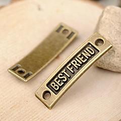Eruner®36*10MM Alloy Best Friend Charms Pendants Jewelry DIY (5PCS)