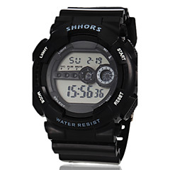 Men's Watch Sports Digital Multi-Functional Silicone Strap