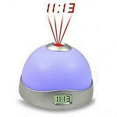 2.56 Inch Modern Style Moon and Star Projected Display Clock