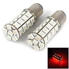 1157 5W 280lm 30-5050SMD LED Red Light Car Brake Lamper (2stk)
