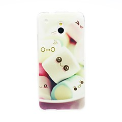 Kinston Sweet Cotton Candy Pattern TPU Soft Case for HTC One Mini M4