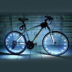 FJQXZ 18 LED 2 modalità Bianco in bicicletta la luce della rotella - 1 PC