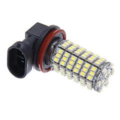 LED H11 120x3528SMD lumière blanche pour une ampoule de phare (12V)