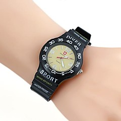 Heren casual stijl Silica Gel Wrist Watch (1 st)