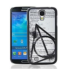 Magic Koulu Lainaus Pattern muovi kova suojakotelo Samsung Galaxy S4 i9500