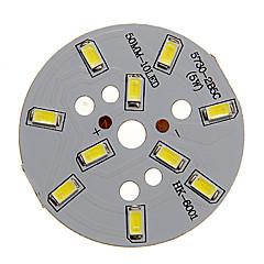 5W 400-450LM Cool White luz 5730SMD módulo de LED integrado (15-18V)