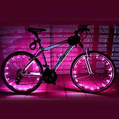 Eclairage de Vélo / bicyclette / Éclairage pour roues de vélo LED Cyclisme Etanche AA Lumens Batterie Cyclisme-FJQXZ®