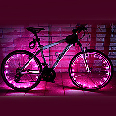 Cykellys hjul lys LED Cykling Vanntett AA Lumen Batteri Cykling-FJQXZ®