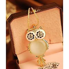 Dames Hangertjes ketting Uil Sneeuwvlok Legering Modieus Kostuum juwelen Sieraden Voor Speciale gelegenheden  Verjaardag