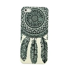 Unelma tupsut Pattern Hard Case for iPhone 4/4S