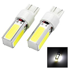 Marsing T20 20W 1500lm 4-COB LED 6500K White Light Car Headlamp Foglight - (12V  2 PCS)