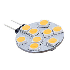 G4 2,5 W 3200K 117lm 9x5060SMD LED varmt lys Household Lighting Lampe - (8 ~ 30V)