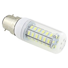 7W B22 LED Corn Lights T 48 SMD 5730 600 lm Cool White AC 220-240 V