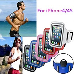 Gym Running Sport Arm Band Armband Case Cover for iPhone 4/4S(Assorted Colors)
