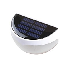 6-LED Outdoor LED Solar Light Wall Light Landscape Pinup Path Garden Lamp
