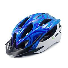 Kheng 22 Vents PC + EPS Blue MTB Integrally-molded Cycling Helmet(54-62cm)