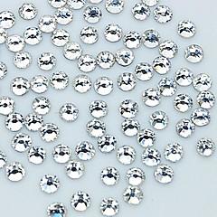 1440PCS 2MM Glitter Crystal Rhinestone Nail Art Decoration