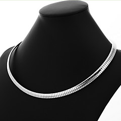 U7® Women's Choker Snake Necklace 316L Stainless Steel Chains Jewelry NEVER FADE 8MM 48CM 19''