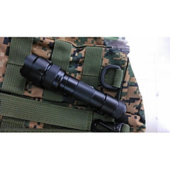 LED Flashlights/Torch Mode 1200 Lumens Waterproof / Impact Resistant / Nonslip grip / Strike Bezel Cree XM-L2 T6 18650